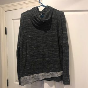 Laila Jayde from Stitch Fix cowl neck top